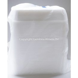 Plastic Containers 500ml   50 pieces