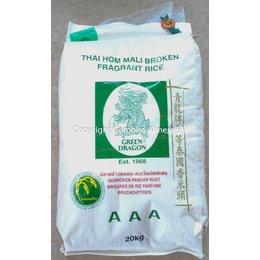 Green Dragon Gebroken Pandan rijst 20 kg