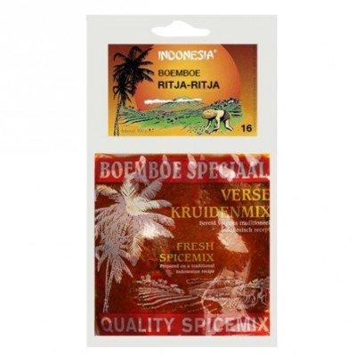 Indonesia Boemboe Ritja Ritja No. 16 | 100 gram