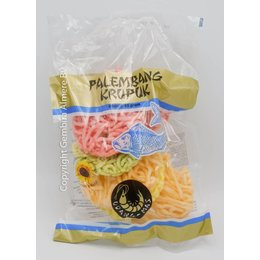 Udang-Mas Palembang Crackers Coloured