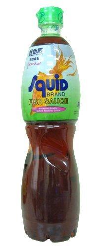 Tokogembira squid brand fish sauce 700 ml for Squid brand fish sauce