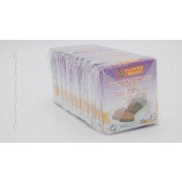 Flower Brand Shrimp Paste in block (Trassie) 25gx10