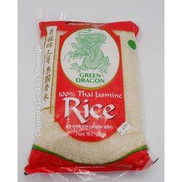 Green Dragon Thaise Jasmijn rijst 2 kg