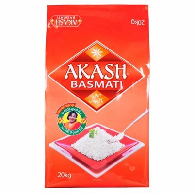 Akash Akash Basmati Rijst 20kg
