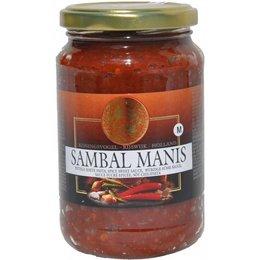 Koningsvogel Sambal Manis 375g