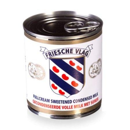 Friesche vlag Friesche Vlag Gecondenseerde volle melk met suiker 397 g
