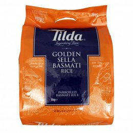 Tilda Tilda Golden Sella basmati rice 5 kg