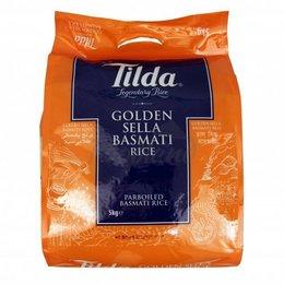Tilda Tilda goude Sella basmati rijst 5 kg