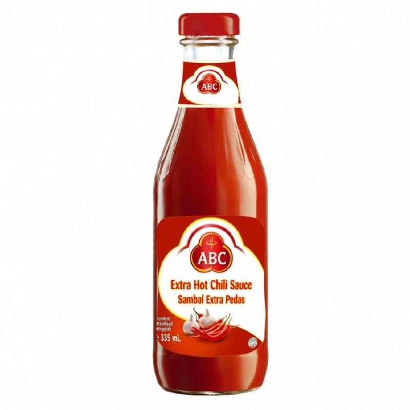 Tokogembira Abc Extra Hot Chili Sauce 335 Ml