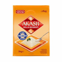 Akash Akash Sella Basmati rice 5 kg