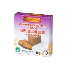 Flower Brand Shrimp Paste in block (Trassie) 25g