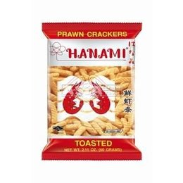 Prawn Crackers Hanami 60gr