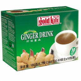 Gold Kili Ginger Drink / Thee 10pcs Gold Kili