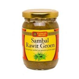 Flower Brand Sambal Rawit Groen 200g