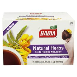 Badia Natural Herbs 25 Tea Bags