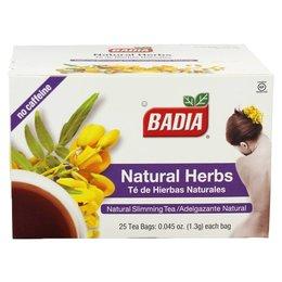 Badia Natural Herbs 25 Tea Bags