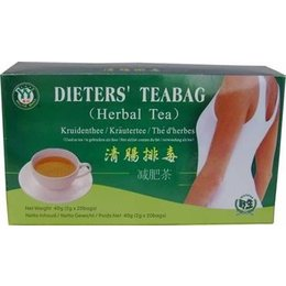 Dieters 20 Tea Bags Welltop