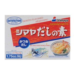 Shimaya Bonito Dashi Stock - Powder, 50 g, 10 sachets