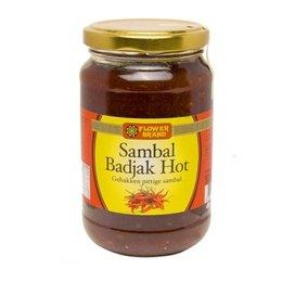Flower Brand Sambal Badjak Hot 375g
