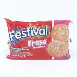 Festival Strawberry cookies