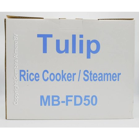 Tulip Tulip Rijst koker / stomer 1.8L