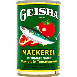 Geisha Mackerel in Tomato Sauce 155g