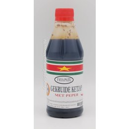 Faya Patu Seasoned soy sauce with pepper 330ml
