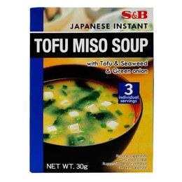 S&B S&B Tofu miso soup 40g
