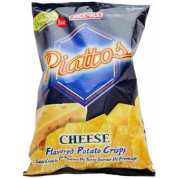 Piatto cheese flavor potato chips