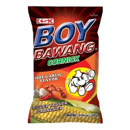 Boy Bawang cornick hot garlic flavor