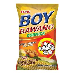 Boy Bawang chili cheese flavor
