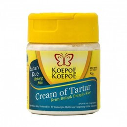 Koepoe Koepoe Cream of Tartar 43g