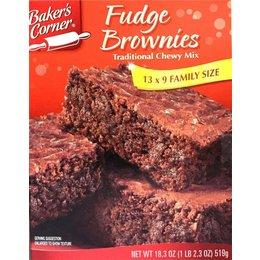 Baker's Corner Fudge Brownies