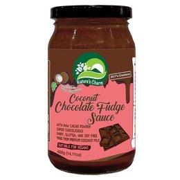 Nature's Charm Coconut Choco Fudge Sauce
