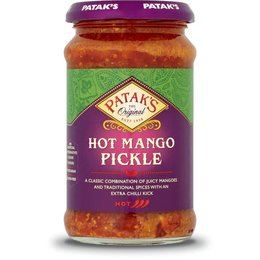 Patak's Original Hot mango pickle 283gr