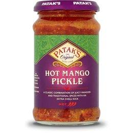Patak's Original Hot mango pickle 283gr