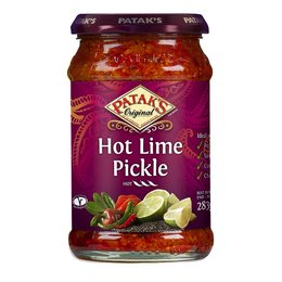 Patak's Original Hot Lime pickle 283G