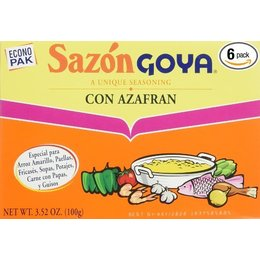 Sazon Goya Con azafran 20pcs