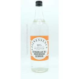Vinegar Essence 80% 1 LITER (Transparent)