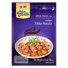 Asian Home Gourmet Spice Paste for Indian tikka masala 50g
