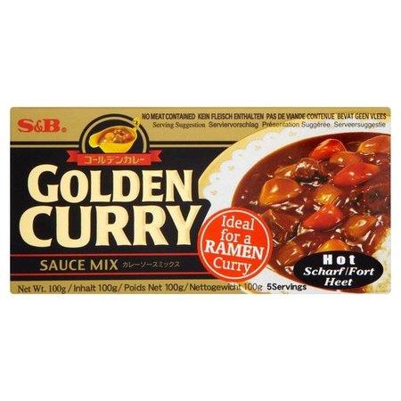S&B S&B golden curry sauce mix hot 100 g