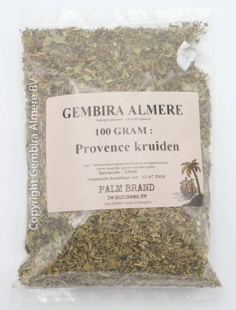 Gembira Almere Provence herbs 250 grams