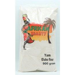 African Beauty Yam Elubo flour 900 gram