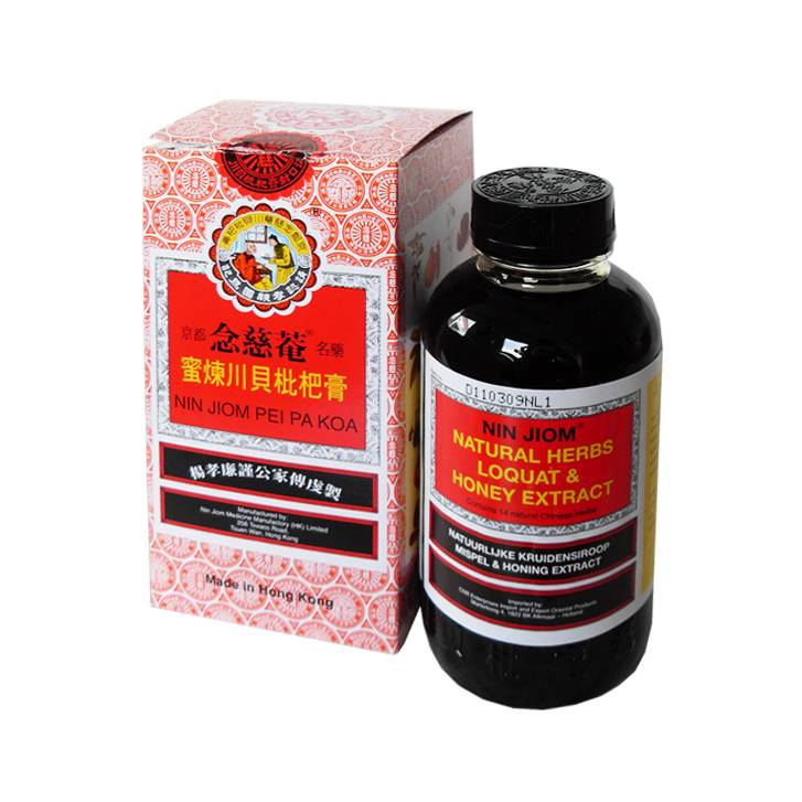 Nin Jiom Pei Pa Koa Natural Herbs Loquat Amp Honey Extract