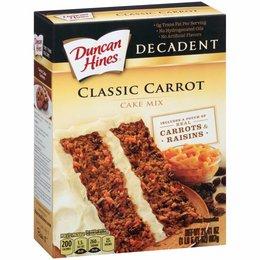 Duncan Hines Classic Carrot Cake Mix 607g