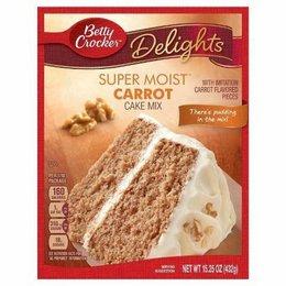 Betty Crocker Delights Super Moist Carrot Cake Mix 432g