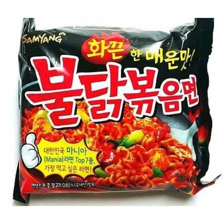 Samyang Hot Chicken flavor ramen 5-pack