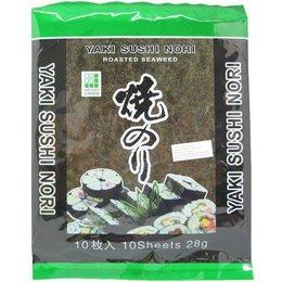 Yaki Sushi Nori Seaweed 10 sheets