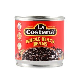 La Costena Whole Black Beans 400g