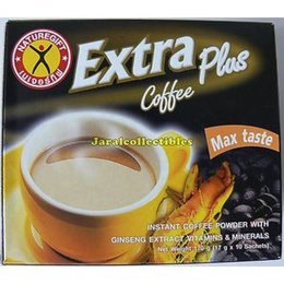Nature Gift TH EXTRA Coffee Instant w. Ginseng 170 gr (10 sachets)